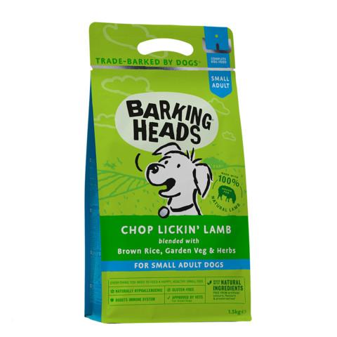 Barking Heads Chop Lickin' Lamb Small Breed Dry Dog Food 4kg