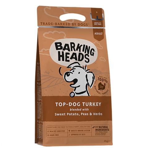 Barking Heads Top Dog Turkey Grain Free Dry Dog Food 12kg
