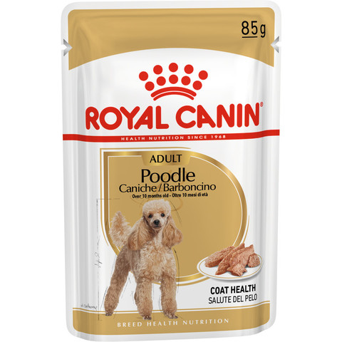 Royal Canin Poodle Adult Dog Food Pouches 12 X 85g