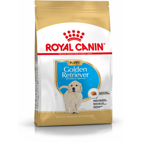 Royal Canin Golden Retriever Puppy Dog Food 3kg To 12kg