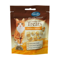Hilife It's Only Natural Chicken Breast Cat Treats 10g