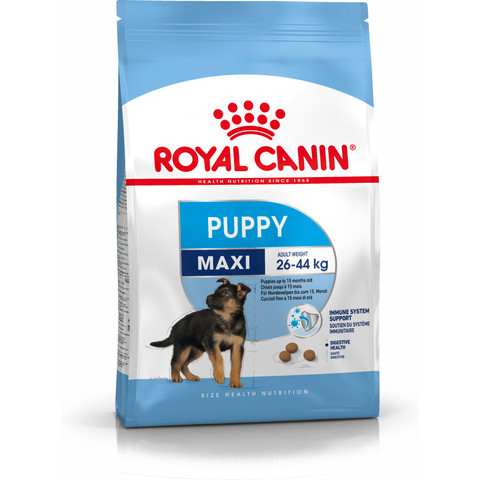 Royal Canin Maxi Puppy Food 4kg To 15kg