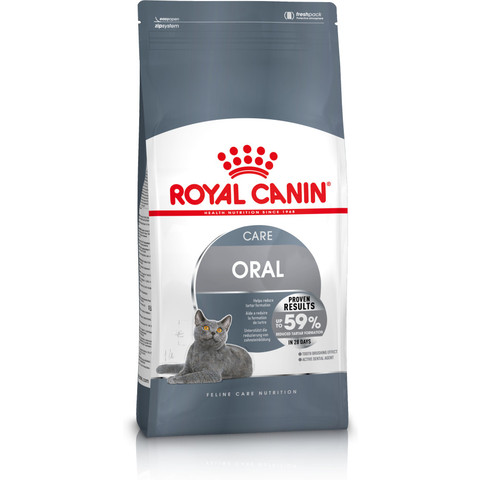 Royal Canin Oral Care Adult Cat Food 400g To 8kg