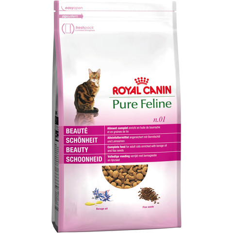 Royal Canin Pure Feline Beauty No 1 Adult Cat Food 300g To 1.5kg