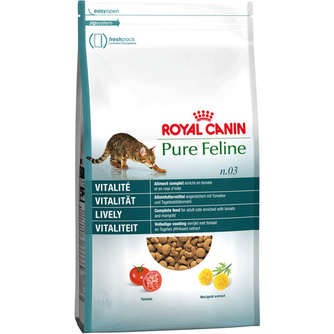Royal Canin Pure Feline Lively No 3 Adult Cat Food 300g To 1.5kg