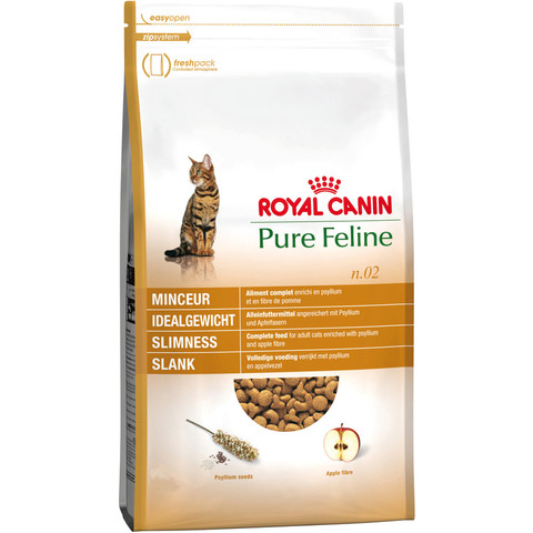 Royal Canin Pure Feline Slimness No 2 Adult Cat Food 300g To 1.5kg