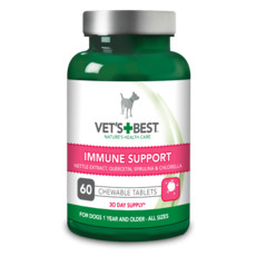 Vets Best Immune Support Tablets For Dogs 60 Tablets
