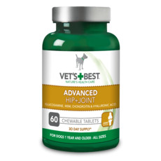 Vets Best Advanced Hip & Joint Tablets For Dogs 60 Tablets