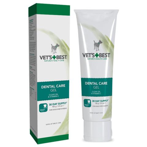 Vets Best Dental Care Gel Toothpaste For Dogs 100g