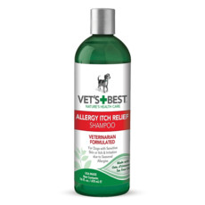 Vets Best Allergy Itch Relief Shampoo For Dogs 470ml