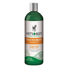 Vets Best Flea Itch Relief Shampoo For Dogs 470ml