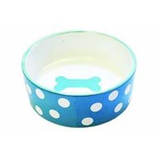 Happy Pet Polka Dot Pet Bowl Large