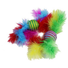 Happy Pet Carnival Rattler Cat Toy 2 Pack