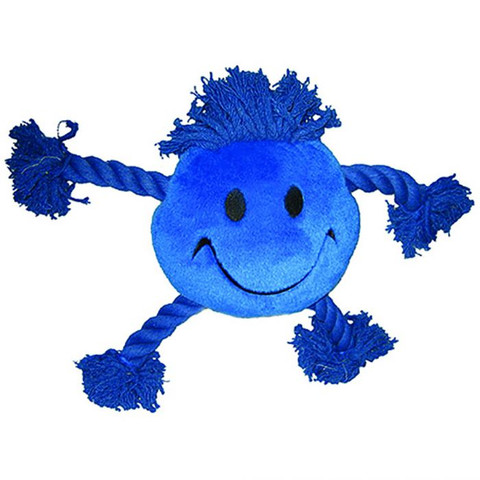 Happy Pet Happy Faces Blue Dog Toy