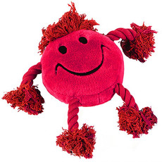 Happy Pet Happy Faces Red Dog Toy One Size