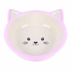 Happy Pet Kitten Bowl Pink One Size