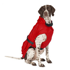 Ancol Extreme Monsoon Dog Coat Red Small/med