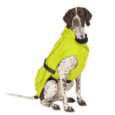 Ancol Extreme Monsoon Dog Coat Hi-vis Small/med