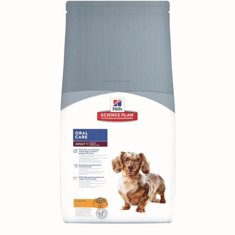 Hills Science Plan Canine Adult Oral Care Chicken 2kg To 5kg