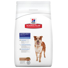 Hills Science Plan Mature Senior Dog Food With Lamb And Rice 12kg