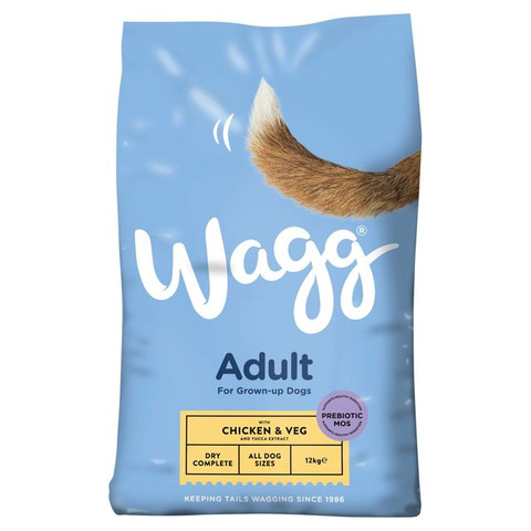 Wagg Complete Dry Dog Food Chicken & Vegetable 12kg