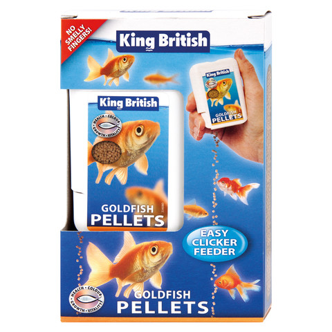 King British Goldfish Pellets 26g