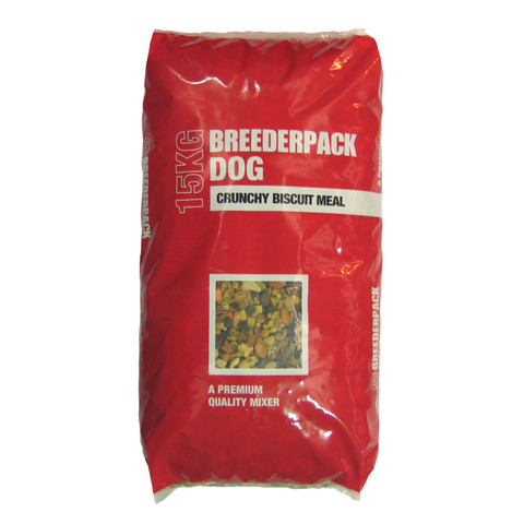 Breederpack Crunchy Biscuit Meal For Dogs 15 X 1kg