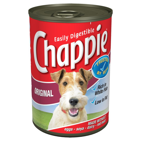 Chappie Adult Original Dog Food Can 12 X 412g