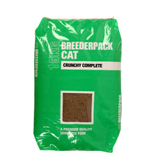 Breederpack Crunchy Complete Cat Food 2.5kg To 15 X 1kg