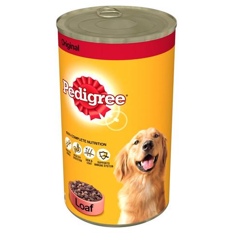Pedigree Chum Original Dog Food Can 12 X 1200g