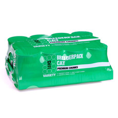 Breederpack Premium Chunks Cat Cans 12 X 400g