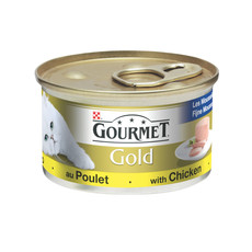 Gourmet Gold Cat Food Pate With Chicken 12 X 85g