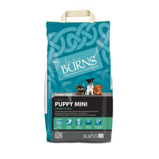 Burns Mini With Chicken Puppy Food 2kg To 12kg