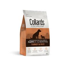 Collards Hypoallergenic Puppy Turkey And Rice Dog Food 2kg