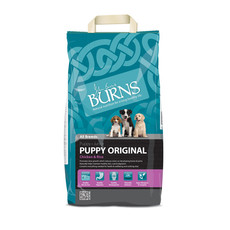 Burns Original With Chicken Puppy Food 2kg To 12kg