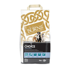Burns Choice With Lamb And Maize Dog Food 2kg To 12kg