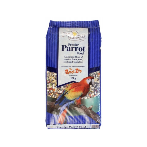 Walter Harrisons Premier Parrot Mix Complete Food 2.25kg To 15kg