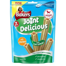 Bakers Joint Delicious Dog Treats With Chicken 6 X Medium
