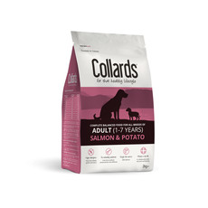 Collards Hypoallergenic Adult Salmon And Potato Dog Food 2kg