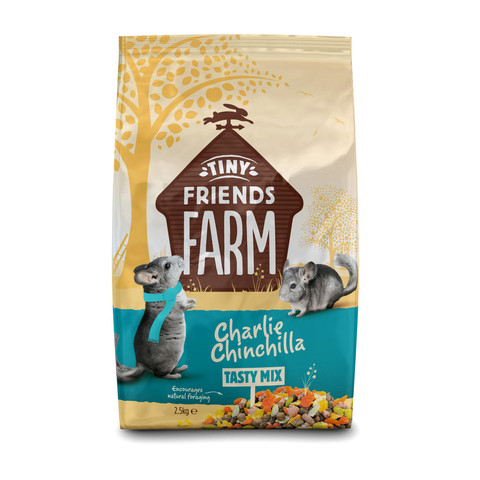 Supreme Charlie Chinchilla Food 2.5kg To 12.5kg