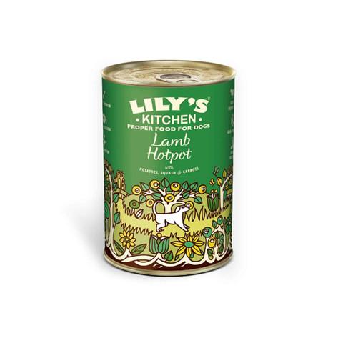 Lilys Kitchen Lamb Hotpot Grain Free Wet Dog Food 6 X 400g