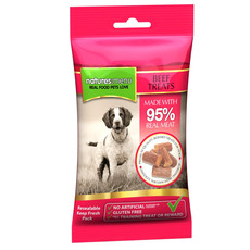 Natures Menu Real Meaty Dog Treat With Beef 12 X 60g