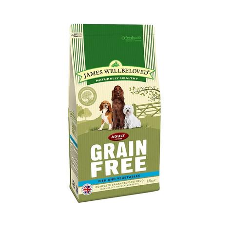 James Wellbeloved Grain Free Fish And Vegetable Adult Dog Food 2 X 10kg