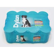 Dylan Working Dog Food Tins 12 X 400g
