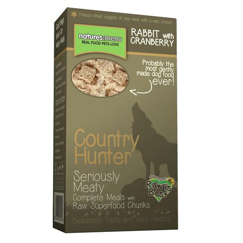Natures Menu Country Hunter Meaty Freeze Dried Rabbit Crunch 8 X 700g