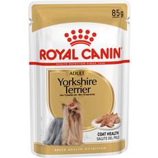 Royal Canin Yorkshire Terrier Adult Dog Food Pouches 12 X 85g