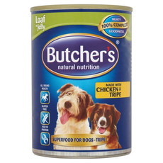 Butchers Grain Free Tripe And Chicken Mix Adult Dog Food 12 X 400g