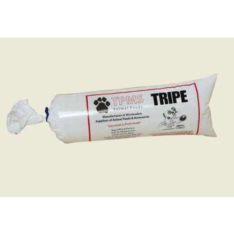 Tpms Minced Tripe Chub Frozen Raw Dog Food (not Stocked In Wakefield Store) 25 X 454g