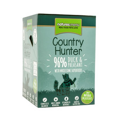 Natures Menu Country Hunter Superfood Grain Free Duck And Pheasant Cat Pouches 6 X 85g