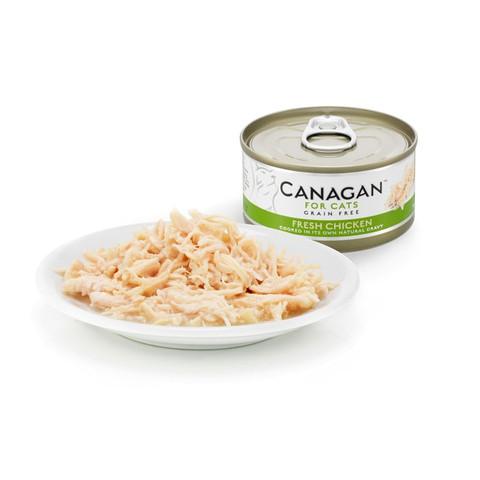 Canagan Fresh Chicken Grain Free Wet Cat Food 12 X 75g